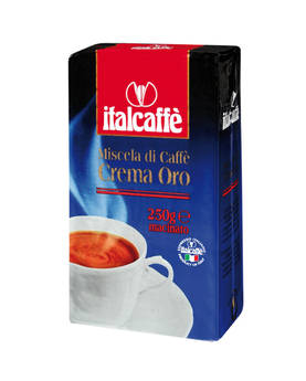 CoffeeCrema Oro Italcaffé 250g - Kaffe - IT2503 - 1