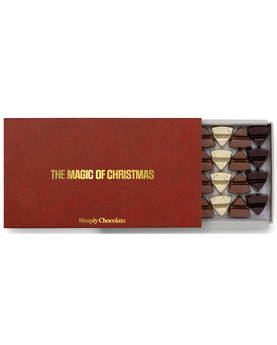 Christmas Chocolate Box 360g - Choklad askar - SC0562X - 1
